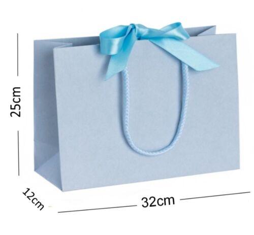 10 Mittel Band Krawatte Schleife Geschenk Beutel Luxus Party Feier Tisch