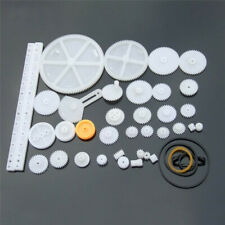 75pcsbag Plastic Gear Rack Pulley Belt Worm Gear Single And Double Gear