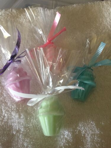 Prizes Sets Of 10 cupcake soaps for Baby Showers Birthdays Gifts