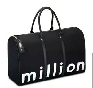 Paco Rabanne 1 Million Men Duffle Bag Weekender Gym Travel Overnight Handbag
