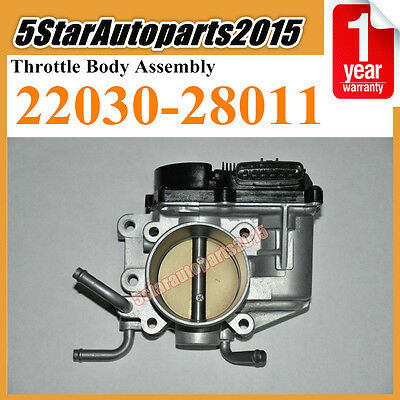 Throttle Body Assy 22030-28011 For Toyota Caldina Gaia Nadia Noah//voxy Vista 2.0