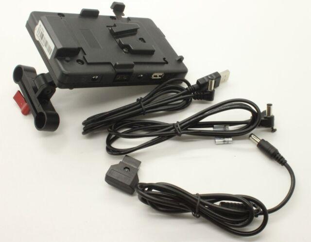 DSLR USB Sony V-mount battery power Supply System Fo Tilta 5D2 5D3 60D BMCC Cage