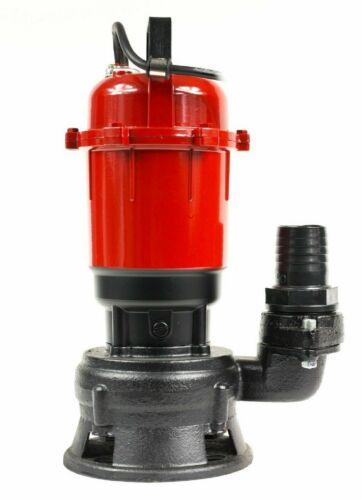 Gartenpumpe RÖHTENBACH 0,55 kW Pumpe 550W Fäkalienpumpe Wasserpumpe Tauchpumpe
