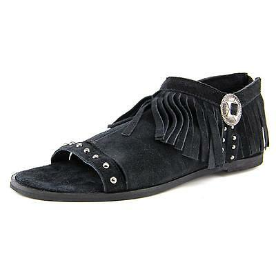 Coconuts By Matisse Haro Women  Open Toe Leather Black Sandals