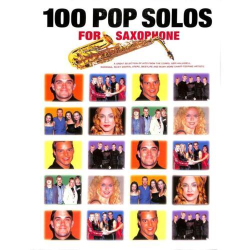 Saxophon Noten Musiknoten 100 Pop Solos for Saxophone