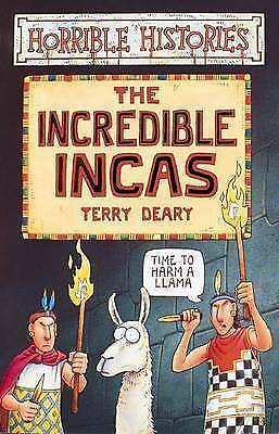 Horrible Histories: The Incredible Incas by Terry Deary (Paperback, 2000)