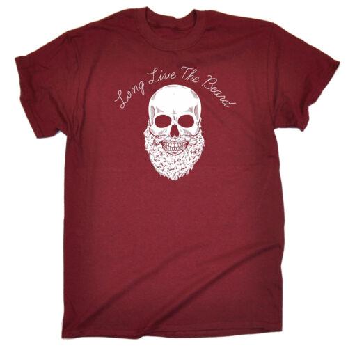 Long Live The Beard T-SHIRT Beard Facial Hair Tee Dad Top Funny birthday gift