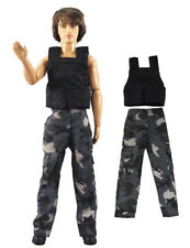 Dll clothing//Outfit//Tops+Pants For 12 inch Ken Doll Clothes B49