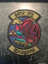 70/'s-80/'s 318th FIGHTER INTERCEPTOR SQUADRON subdued patch