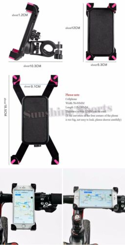 Bicycle Cell Phone Holder Bracket ABS MTB Road Bike Top Frame Front  Phone Stand