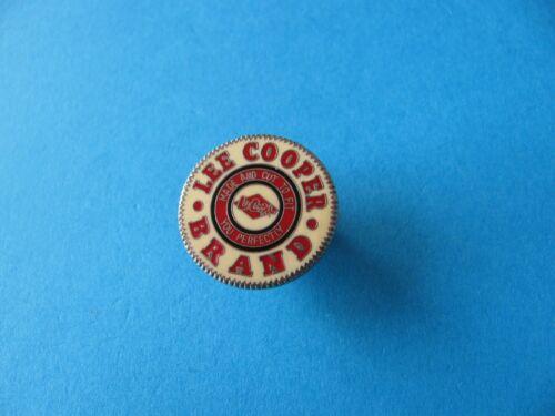 Lee Cooper Brand Jeans Button Pin Badge Enamel VGC