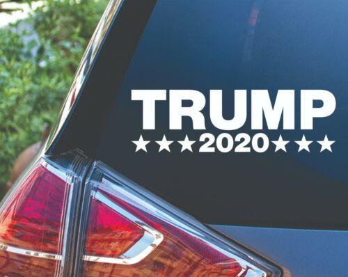 Trump 2020 President Political Republican Vinyl Decal Sticker