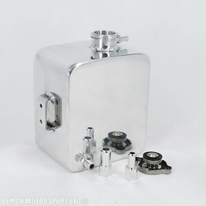 Polished-Alloy-2-Litre-Water-Header-Expansion-Tank-11mm-amp-15mm-Cap