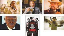 Django Unchained Eccezionale Nuovo Completo CARTOLINE Set