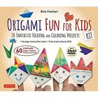 Origami Fun for Kids Kit 20 Fantastic Folding and Coloring Projects Foelker RI