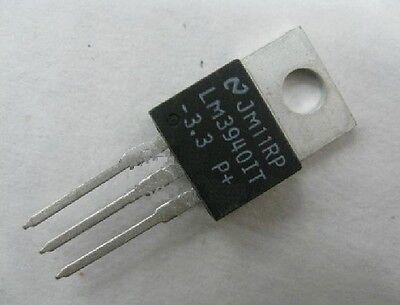 50PCS LM1117T-3.3 NSC IC REG LDO 3.3V 0.8A TO220 NEW GOOD QUALITY