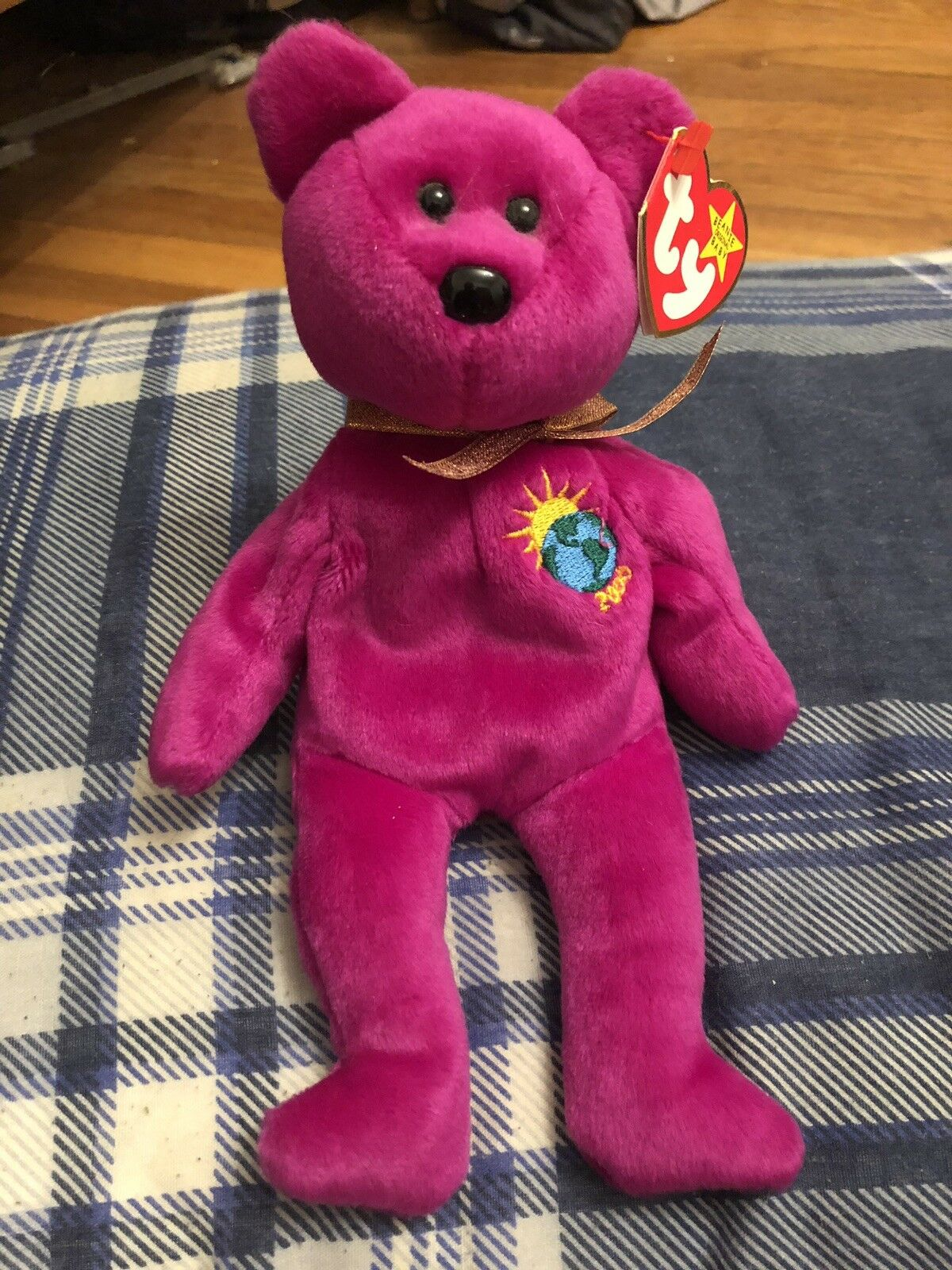 Millennium TY Beanie Baby With Errors