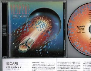 JOURNEY-Escape-JAPAN-CD-SICP-20034-Disc-is-MHCP-1171-for-Mini-LP-CD-issue