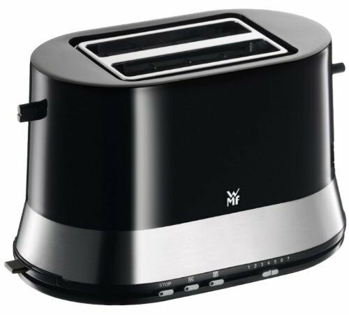 WMF STELIO WMF3 Edition Toaster Doppelschlitz  Bräunungsstufen 800 W  Schwarz