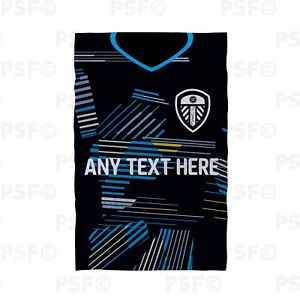 Leeds-United-FC-Official-Personalised-Away-Shirt-2019-Beach-Towel-LBT006