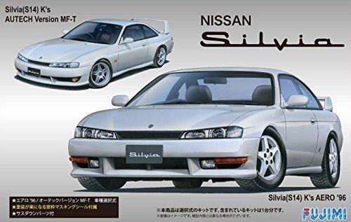servicio considerado Fujimi modelo 1 24 Pulgadas serie No.84 Nissan Nissan Nissan S14 Silvia K 's Aero'96 Autech V  Envío 100% gratuito