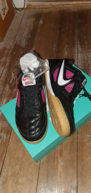 Sneakers, NIKE SB GATO - SUPREME, str. 45,  Sort, pink,…
