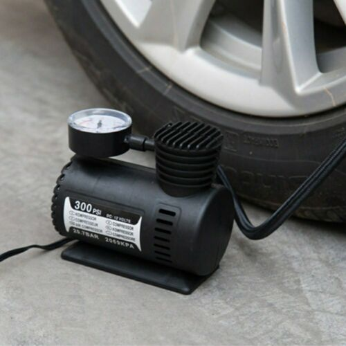 Car Mini Electric Inflation Pump Portable Tyre Air Inflator For Bicycle GL