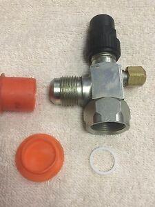 Service-Valve-For-Receiver-or-Compressor-V05FT-5-8-034-male-Flare-Valve-w-gasket