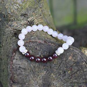 Soothing-And-Calming-Healing-Crystals-Bracelet-Rose-Quartz-And-Garnet