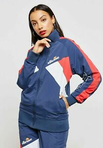 Ellesse-Womens-Track-Top-Jacket-Navy-Blue-Tonalito-16uk-RRP-60-New