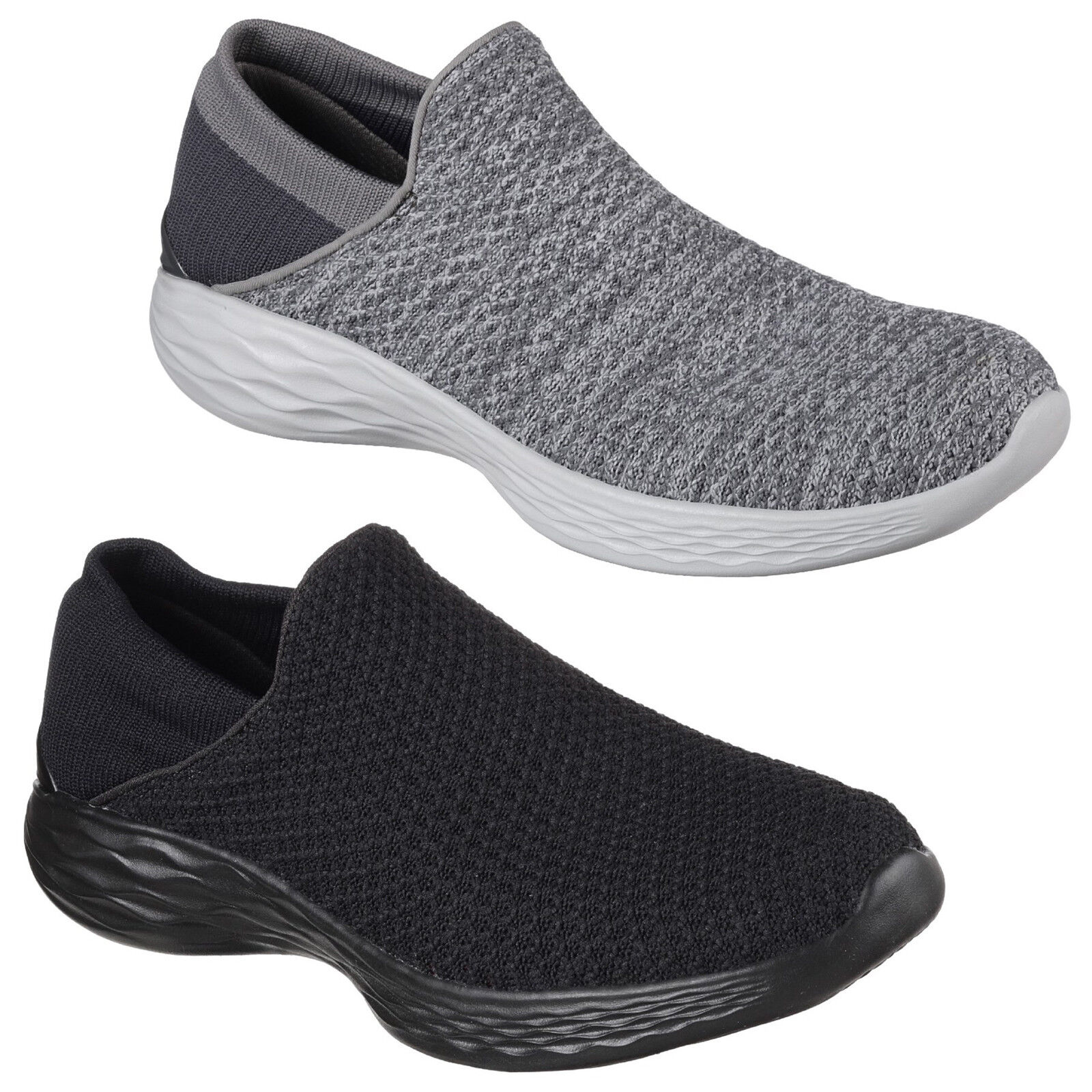 Skechers You Trainers Womens Memory Foam Slip On Sports Walking Sneakers shoes