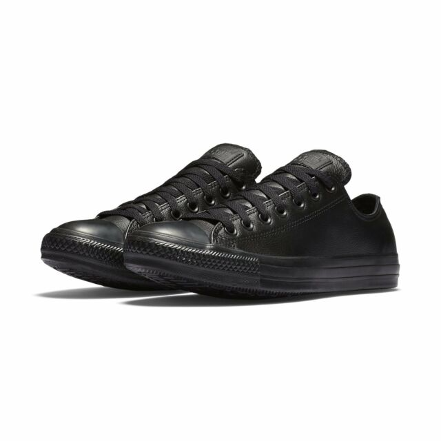 New Converse Chuck Taylor All Star Low Top Sneakers 135253C Leather נעלי אולסטאר