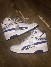 Vintage Reebok 1980s 1990s High Top Shoes size 10.5 Sneakers Pump Basketball