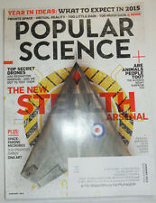 Popular Science Magazine The New Stealth Arsenal January 2015 010915R