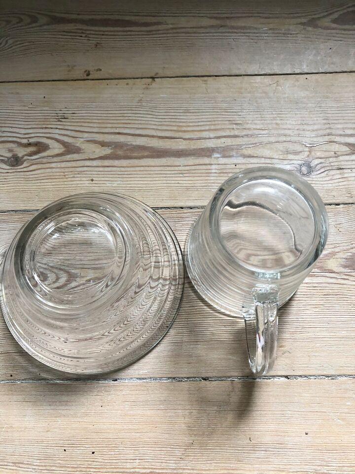 Glas, Fløde og sukker sæt, Broksø
