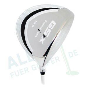 PowerBilt-GSX-LCG-Driver-10-5-weiss-regular-Flex-fuer-Herren-Rechtshaender
