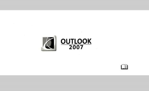 2007 Saturn Outlook Owners Manual User Guide Reference Operator Book Fuses