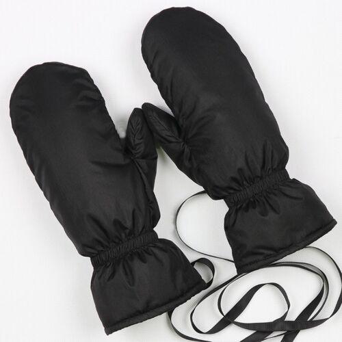 Unisex Womens//Mens Winter Warm Down Gloves Waterproof Thicken Ski Gloves Mitten