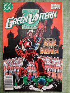 The-Green-Lantern-Corps-Red-Dawn-209-DC-Comics-FEB-1987-VF-NM