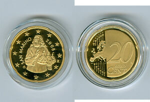San Marino 20 Cent 2014 Pp Seulement 5.000 Pièce Dwkuvkpq-08002930-229777147