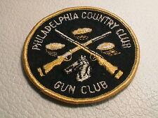PHILADELPHIA PENNSYLVANIA COUNTRY & GUN CLUB SPORTSMAN TRAP SKEET CLAY PATCH