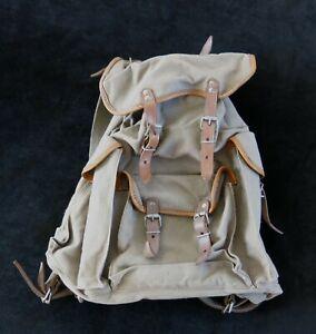 SAC à DOS, ancien petit sac à dos, type Lafuma, scout, scoutisme, vintage,design