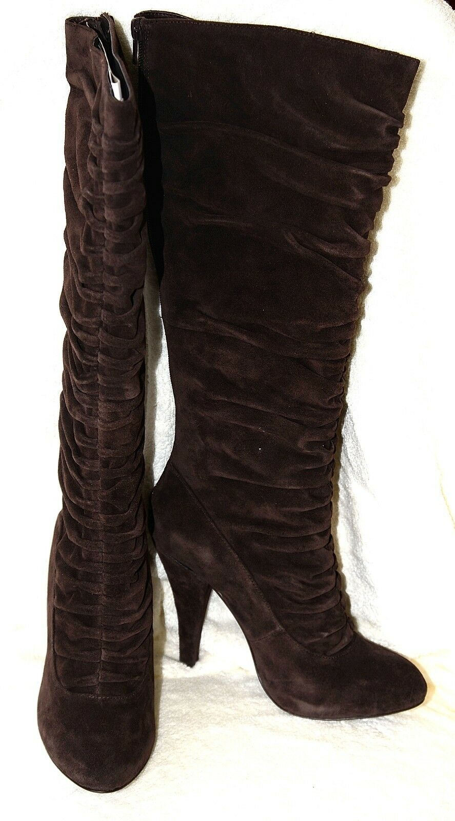 New Kelsi Dagger IONA Stiefel Chocolate braun Suede leather  225 8.5