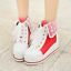 Size 34-48 Womens High Top Platform Creeper New Lolita Shoes Sneaker Wedge A2118
