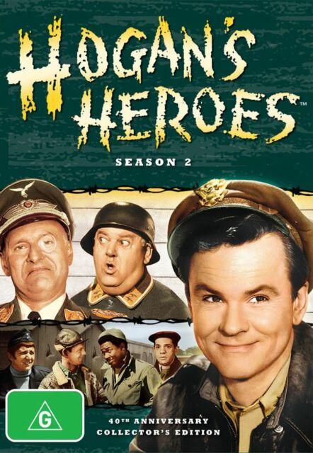 Hogans Heroes: Season 2 TWO (DVD) OVER 12 HOURS ! Region 4 Australia