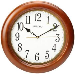 Seiko-QXA522BLH-Classic-Wall-Clock-New-Free-Shipping