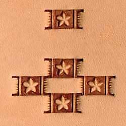 6596-00 X596 WBL Basketweave stamp tool