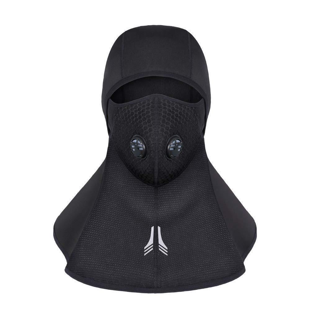 Balaclava Ski Full Face Mask, Thermal Head Warmer Caps Cold Weather Windproof