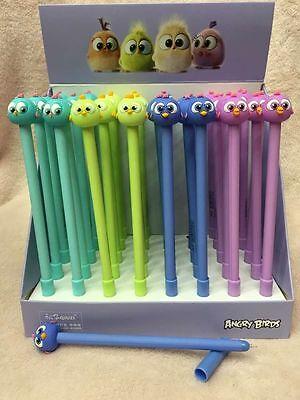1box 40Pcs color popular cartoon children stationery Neutral pen gifts 0.5mm
