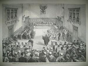 ALGERIE-CONSTANTINE-COUR-JUSTICE-JUBLILe-MOLIERE-HAUTE-SAONE-GRAY-GRAVURES-1873